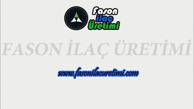 Fason İlaç Üretimi - Flakon Dolum - Fason Kozmetik Üretimi