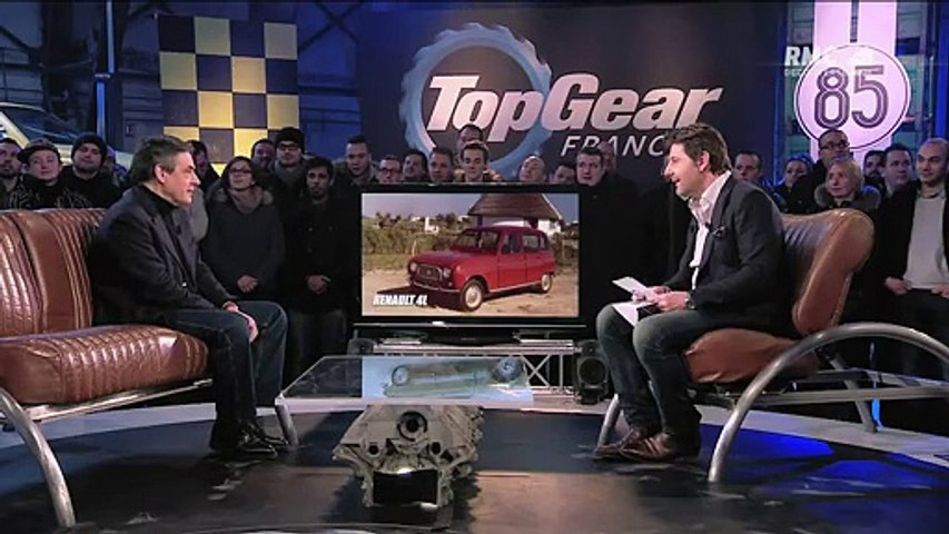 François Fillon invité de Top Gear France