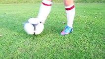 Learn David Beckham Free kick   STRskillSchool curve ball football Tutorial