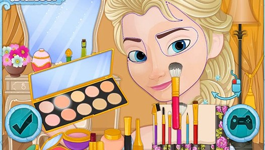 Elsa Make Up Spiele