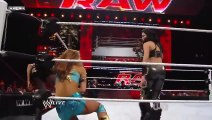 WWE Melina And Alicia Fox (vs) Eve Torres and Gail Kim Wrestling