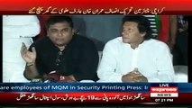 Ali Zaidi Urging NA 246 Voters To Call 1101 Rangers Helpline If MQM Has Taken Your NIC