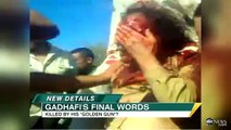 Moammar Gadhafi Dead Video: Last Moments Alive Caught on Tape in Sirte: WARNING GRAPHIC VIDEO