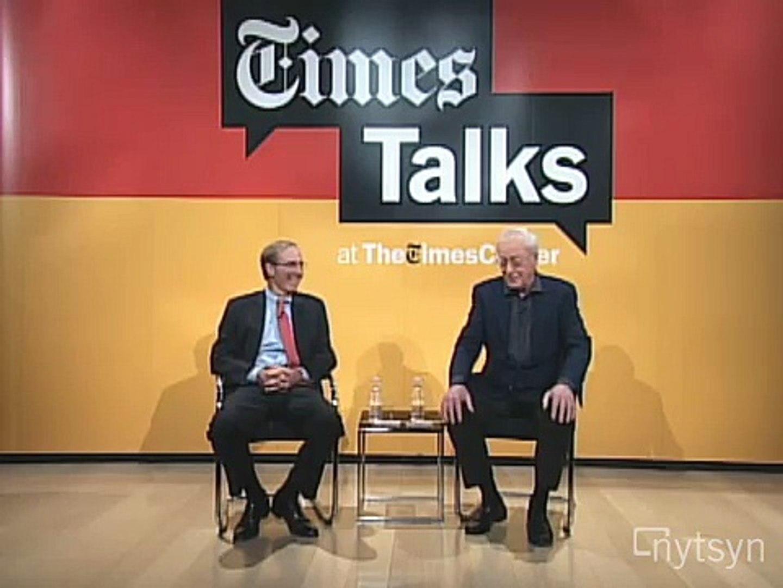 TimesTalks: Michael Caine: Five Favorite Films | The New York Times