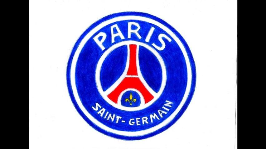 Comment Dessiner Le Logo Psg Paris Saint Germain Como Desenhar Escudo Do Psg How To Draw Video Dailymotion