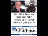 Interview de Jean Robin sur Radio Courtoisie (15 avril 2015)