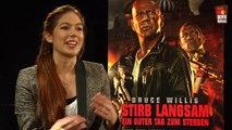 Die Hard 5   Bruce Willis EXCLUSIVE Interview (2013) und GEWINNSPIEL