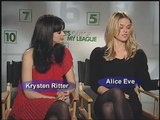 """Jay Baruchel and his costars in """"She's Out of My League"""" 