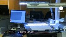 euronews hi-tech - Digitising the British Library