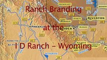 Ranch Branding at the ID Ranch Wyoming