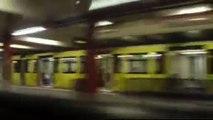 Mitfahrt im A3L92 auf der U2 von Potsdamer Platz bis Alexanderplatz