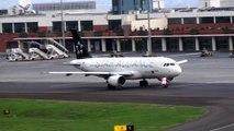 Descolagem Aeroporto da Madeira A320 to Lisboa e A330-200 to Caracas Take-off at Madeira airport