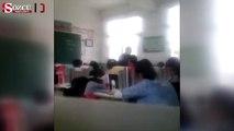 Öğretmen kız öğrencisini tekme-tokat dövdü