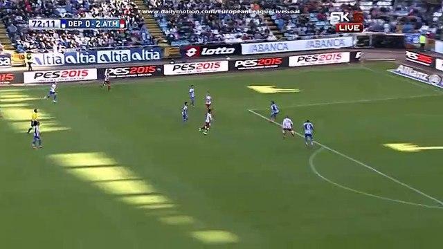 Fabricio Agosto Ramírez Amazing Triple Save (Deportivo La Coruna vs Atletico Madrid)
