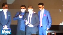 After Leaving One Direction First Time Zayn Malik thanks One Direction as he accepts Asian Award 2015
