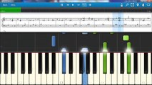 Christina Aguilera  - Beautiful  - piano lesson piano tutorial