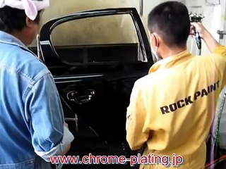 How to spray chrome, new revolutionary chrome plating system rear door