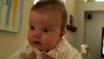 Babies Scared of Farts Compilation 2015 laugh