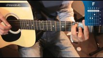 "Cómo tocar ""Hotel California"" de Eagles en Guitarra (HD) Tutorial Principiantes - Christianvib"