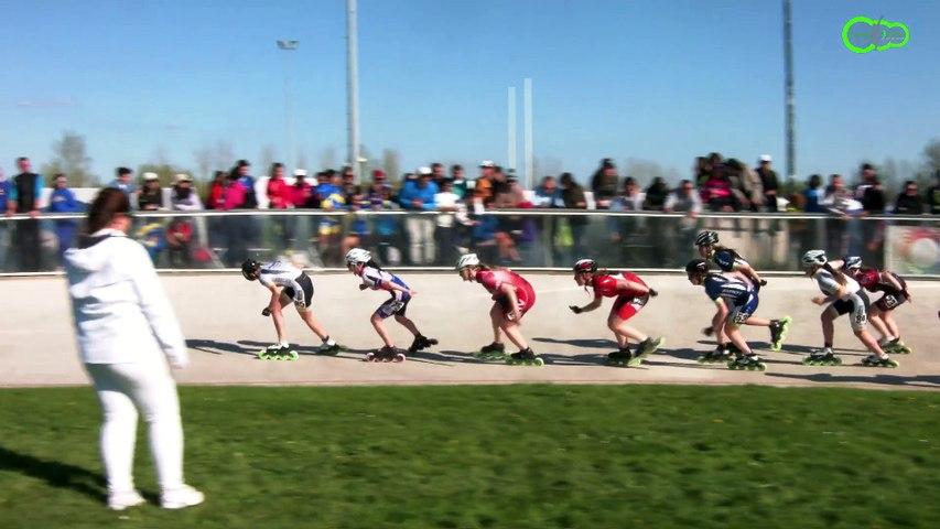2015 Valence junior B dames éliminations