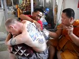 Sak Yant Tattoos in Wat Bang Phra