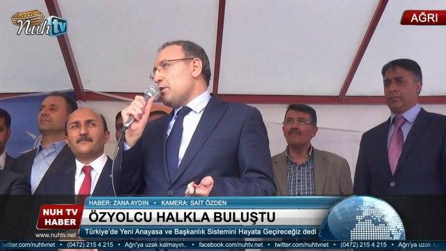 Özyolcu; Yeni Anayasa ve Başkanlık Sistemini Hayata Geçireceğiz dedi.