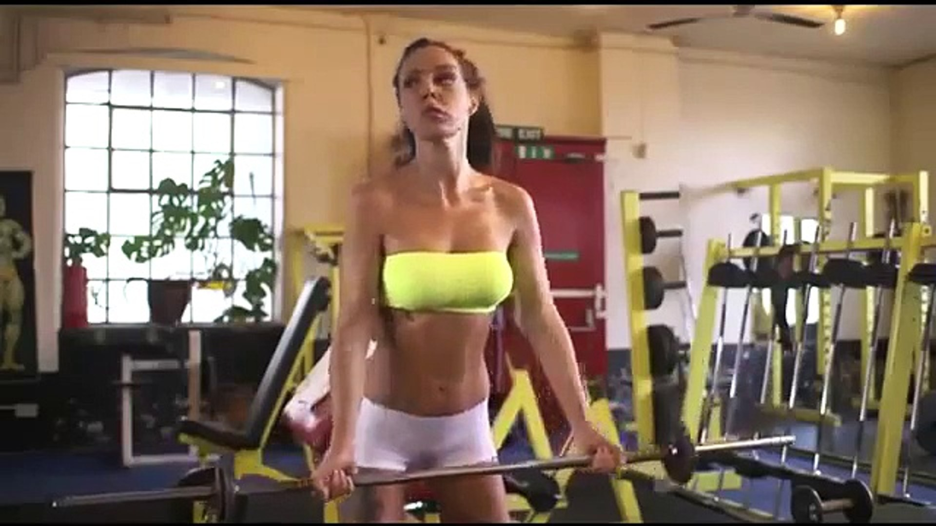 Ultimate Girls Fitness Motivation, Super motivation, Become an Exercise Addict Love Fit Bodies,