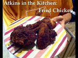 Atkins Diet:  Low Carb Fried Chicken (IF)