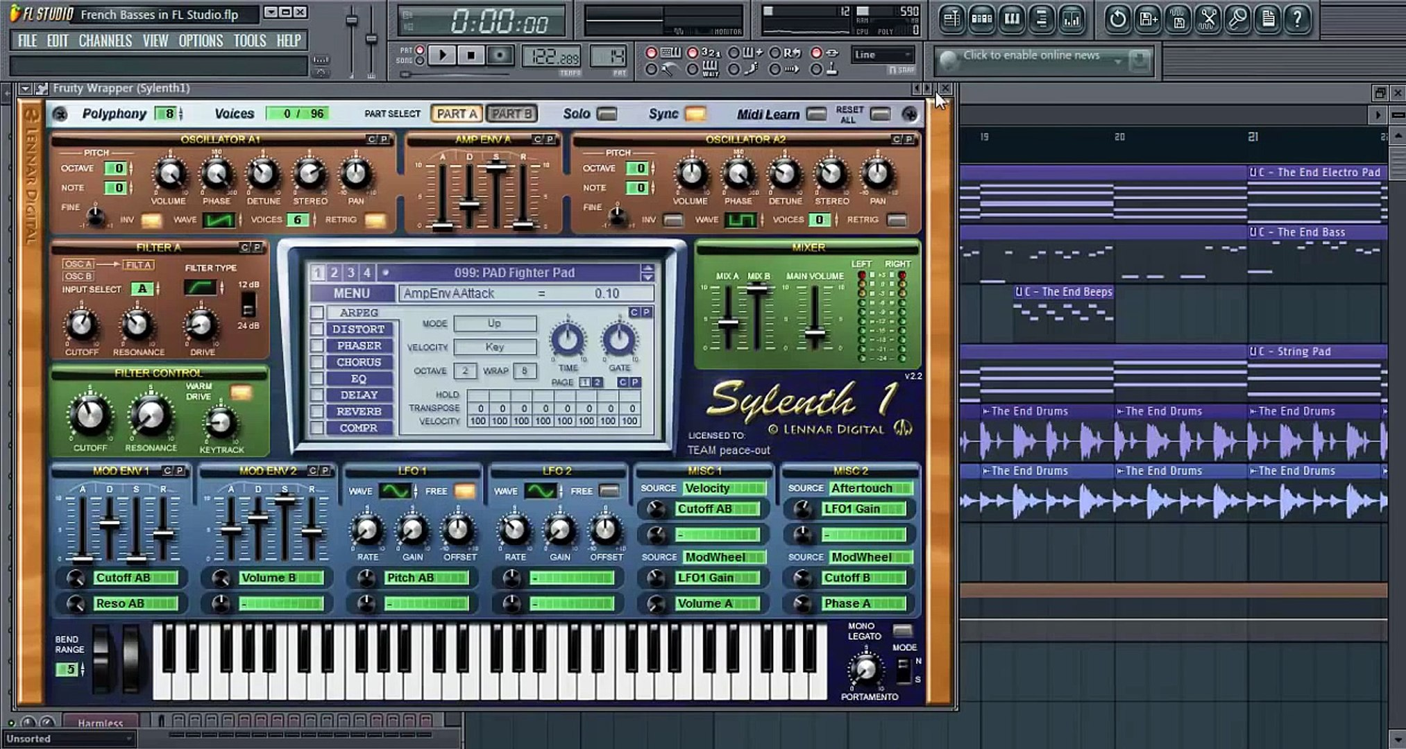 The French House Bass in FL Studio