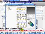 CURSO BASICO INVENTOR 2013 | curso autodesk inventor bogota | curso basico inventor fusion
