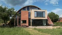 """Grand Designs Eco House.  """"zero-carbon"""" home in Kent"""