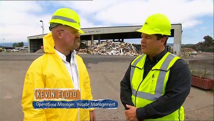 Mythbusters | Dumpster Diving From Building