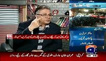 """Hassan Nisar Rips Apart PMLN for their """"GT Road"""" Type Policies"""