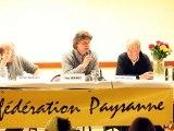 Présentation du projet laitier de la Confédération paysanne (Yves Sauvaget)