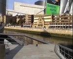 A video tour of the Guggenheim museum Bilbao, Spain