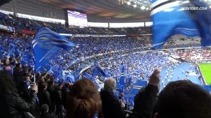 [S.C Bastia] Ambiance au stade de France [Coupe de la Ligue 2015]