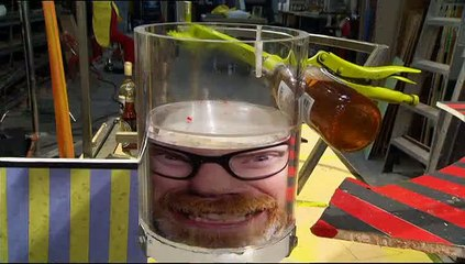 Mythbusters | Bottle Smashed On Head