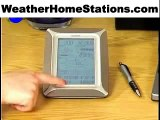La Crosse Weather Station WS-3512 Weather Pro Touch Screen Center