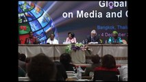 Young Media Activist, Ms Adama Lee Bah at the Global Forum Media and Gender