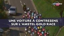 Cyclisme: Une voiture à contresens sur la route de l'Amstel Gold Race