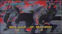Goles C.D. Málaga 5 - Atl. Madrid 1 (temp. 83-84)
