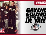 Cayenne, Lil Taiz, Guizmo & Despo Rutti en freestyle dans Planète Rap !