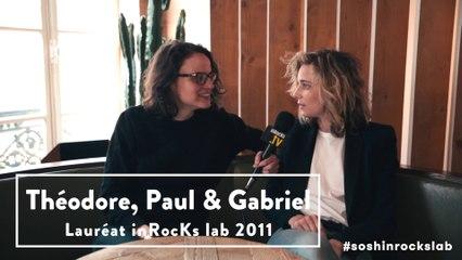 Interview de Theodore, Paul & Gabriel, lauréat du prix inRocKs lab 2011