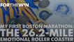 Boston Marathon veterans offer memories of their first race