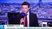 """Migrants : """"l'Europe doit faire beaucoup plus"""""""