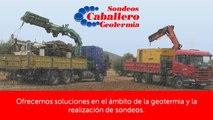 Sondeos en Madrid - Sondeos Caballero - Geotermia - Mortero geotérmico