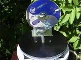 moteur Stirling solaire - solar Stirling engine