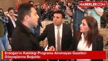 Erdoğan'ın Katıldığı Programa Alınmayan Gazeteci Gözyaşlarına Boğuldu - Haberler.com