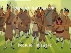 Mulan I ll Make a Man Out of You German Subs & Tra