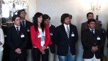 Reunião com jovens agricultores portugueses